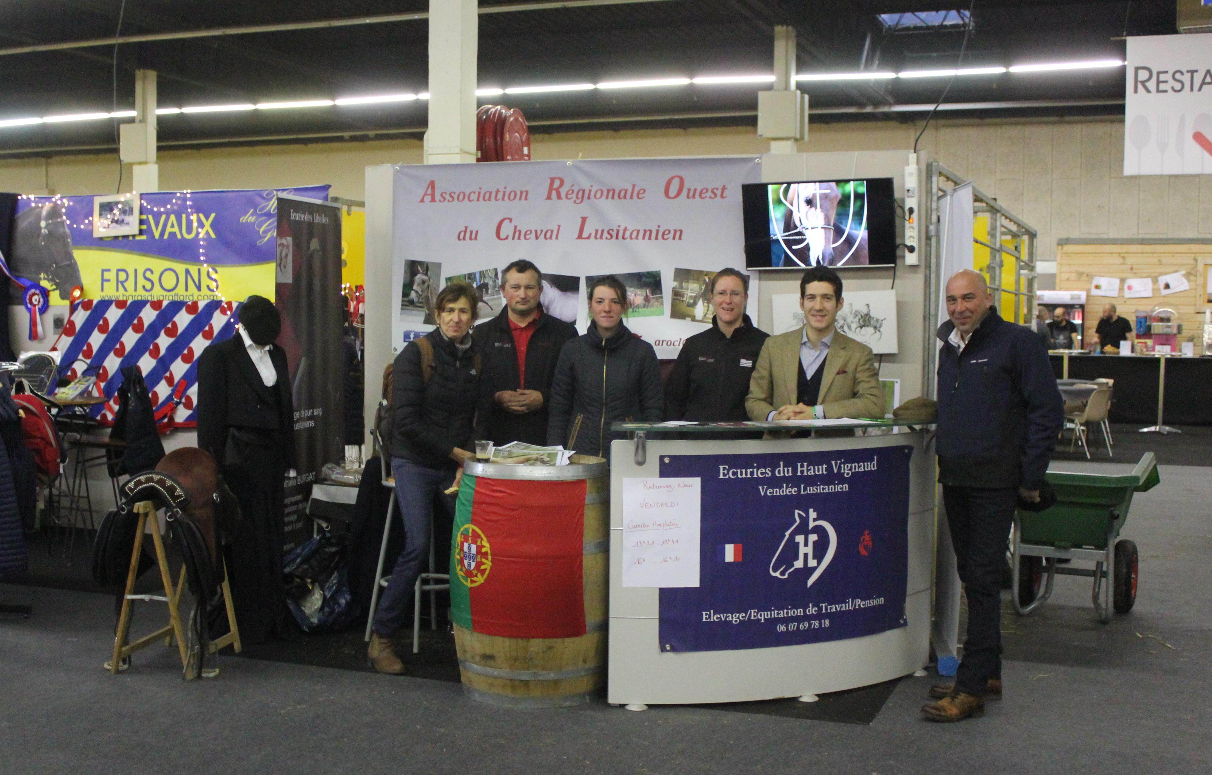 Exhibition in the Angers Horse Show!